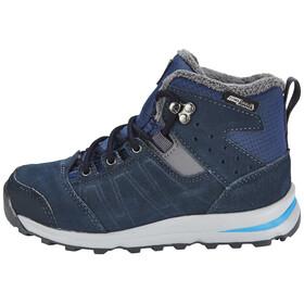 Salomon Utility TS CSWP Winter Shoes Juniors Slateblue/Deep Blue/Pool